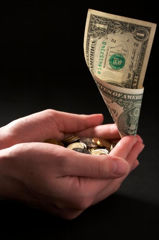 handful money